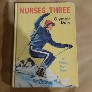 Nurses Three Olympic Duty Vintage Book